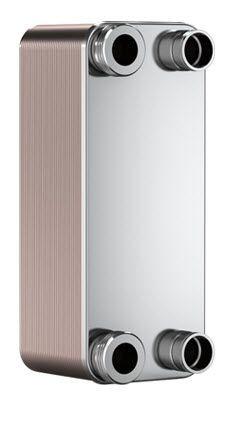 "SWEP B10T 15007-040-1, Brazed Plate Heat Exchanger, B10THx40/1P-SC-S 4x1""NPT"