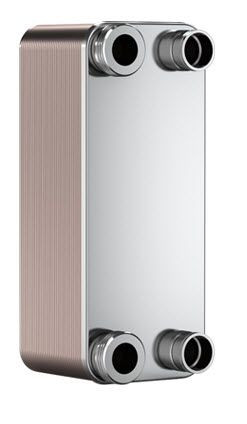 "SWEP B10T 15007-050-1, Brazed Plate Heat Exchanger, B10THx50/1P-SC-S 4x1""NPT"