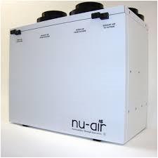 Nu-Air ES170-ERV, Energy Recovery Ventilator