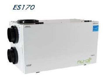 Nu-Air ES170-HRV, Heat Recovery Ventilator