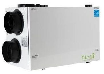 Nu-Air ES210-ERV, Energy Recovery Ventilator
