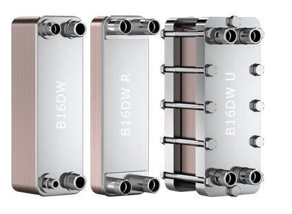"SWEP B16DW 15043-060, Brazed Plate Heat Exchanger, B16DWHx60/1P-SC-S 4x1""NPT"