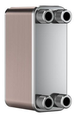 "SWEP B5T 15061-010, Brazed Plate Heat Exchanger, B5THx10/1P-SC-M 4x3/4""&16"
