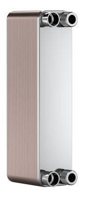 "SWEP B8T 15062-016, Brazed Plate Heat Exchanger, B8THx16/1P-SC-M 4x3/4""&16"