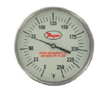 "Dwyer Instruments GBTA52551 5"" THERM 0-250F 25"""