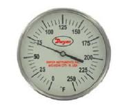 Dwyer Instruments GBTB5256D GLOW IN DARK THERMOM