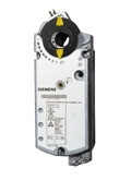 Siemens GGD3261U, Damper Actuator,spring return, 20 lb-in,2-PT, 120VAC,Auxiliary Switches