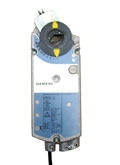 Siemens GIB1361U, OpenAir GIB Series Electric Damper Actuator, rotary, non-spring return, 310 lb-in (35 Nm), 24 Vac/dc, floating control, 125 sec run time, dual auxiliary switches
