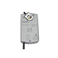 Siemens GQD1261P, OpenAir GQD Series Electric Damper Actuator, rotary, spring return, 20 lb-in (2 Nm), 24 Vac/dc, 2-position control, 30 sec run time, auxiliary switches, plenum rated