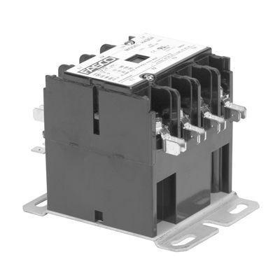Fasco H430C, Contactor 4 Pole 30 Amps 208/240 Coil Voltage