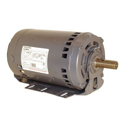Century Motors H845 (AO Smith), Three Phase ODP Resilient Base Motor 460/200-230 Volts 3450 RPM 3 HP