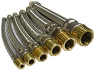 "HCI Flexible Hose Connectors HC-BM _ -12, 3/4"", 12"""