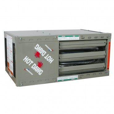 Modine HDS 30, Hot Dawg Separated Cumbustion - CFM 505 - BTU 30,000 - Aluminized - Propeller Unit