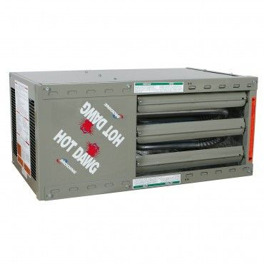 Modine HDS 45, Hot Dawg Separated Combustion - CFM 720 - BTU 45,000 - Aluminized - Propeller Unit