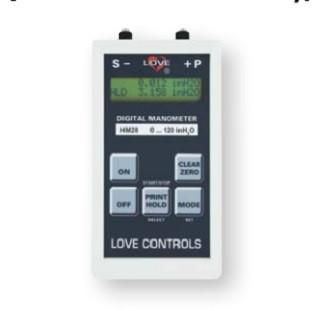 Dwyer Instruments HM28D3B20000 10IN 1% DGTL MAN