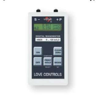 Dwyer Instruments HM28G3V11000 100PSI 2% DGTL