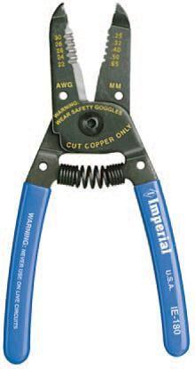 Imperial Stride Tool IE-180 (Milbar 7E), Stripper/Cutter - 22-30 AWG