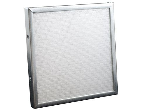 "Permatron IN500-2, 2"" Thick Low-Resistence Industrial Washable Electrostatic Filter 401-500 sq in"