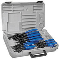 Imperial Stride Tool IR-12K (Milbar 43R), 12 Pc Professional Std Convertible Pliers Kit