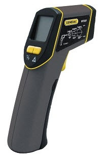 General Tools IRT207 The Heat Seeker 8:1 Mid-range Infrared Thermometer