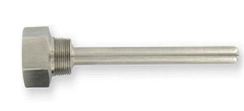 """Dwyer Instruments IW2-242, 4"""" SS THERMOWELL"""