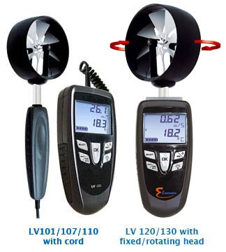 E Instruments LV 110S (16421), Thermo-Anemometers