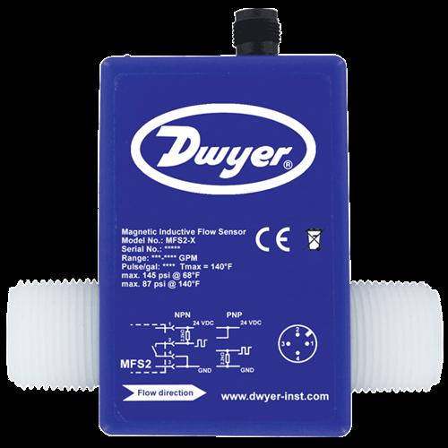 "Dwyer Instruments MFS2-1 FLW SNSR 1/2"" 25-5 LPM"