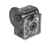 Lafert Motors MU40I75P14/105-SS, STAINLESS STEEL R ANGLE GBX  75:1 RATIO