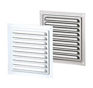 Vents US MVM 150 S ZN, 6x6 Galvanized Steel Vent Grille