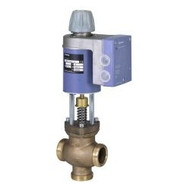 "Siemens MXG461B15-06, Magnetic, 1/2"" Valve 2-way or floating, 07 CV, 0 to 10V control, w/ fittings"