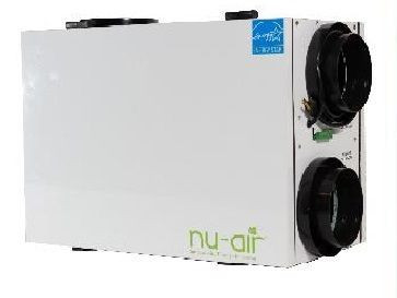 Nu-Air NU145-ERV, Energy Recovery Ventilator