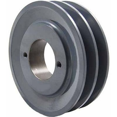 "Packard P2AK46H, Two Groove Bushing Pulleys For 4L Or A Belts 445"" OD"