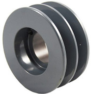 "Packard P2BK40H, Two Groove Bushing Pulleys For 4L Or A Belts And 5L Or B Belts "" OD"