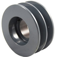 "Packard P2BK57H, Two Groove Bushing Pulleys For 4L Or A Belts And 5L Or B Belts "" OD"