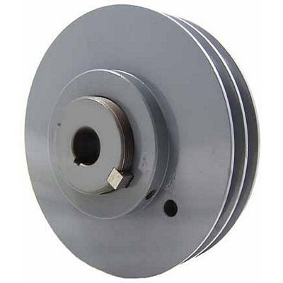 """Packard P2VP62118, Stock PVP Variable Pitch Double Groove Pulleys 6"""" OD"""