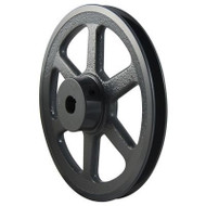 """Packard PAK2258, Single Groove Pulleys For 4L Or A Belts 22"""" OD 5/8"""" Stock Bore"""
