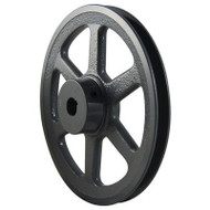 """Packard PAK2358, Single Groove Pulleys For 4L Or A Belts 23"""" OD 5/8"""" Stock Bore"""