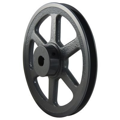"""Packard PAK5158, Single Groove Pulleys For 4L Or A Belts 495"""" OD 5/8"""" Stock Bore"""