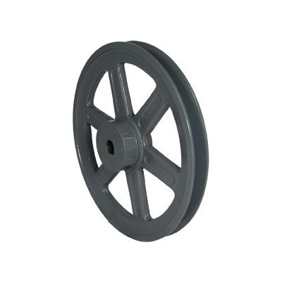 """Packard PBK2558, Single Groove Pulleys For 4L Or A Belts And 5L Or B Belts 25"""" OD 5/8"""" Stock Bore"""