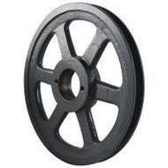 "Packard PBK45H, Single Groove Bushing Pulleys For 4L Or A Belts And 5L Or B Belts 425""OD"