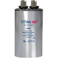 Titan HD POCF25A, 440 Volt Oval Run Capacitor 25 MFD