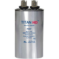 Titan HD POCF25B, 440 Volt Oval Run Capacitor 25 MFD