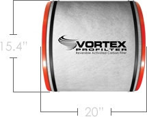 VORTEX Pro50, ProFilter 50 reversible