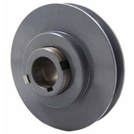 "Packard PVP4078, Stock PVP Variable Pitch Single Groove Pulleys 375"" OD"