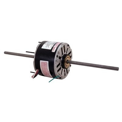 Century Motors RA1076 (AO Smith), 5 5/8 Inch Diameter Double Shaft Fan/Blower Motor 208-230 Volts 1075 RPM 3/4 HP