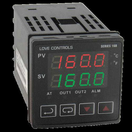 Dwyer Instruments 16B-23-LV 1/16 DIN TEMP CONT