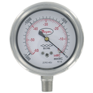 "Dwyer Instruments SGF-D8622N 25""SS GAGE SS WET"