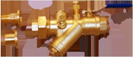 "HCi Terminator A SS Integrated Automatic Balancing Valve with Union, TASS-A-L, 1/2"", 025-30 GPM Range"