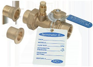"HCi Terminator B SS Balance & Shutoff Valve with Stainless Steel Ball and Stem, TBSS-F, 2"", 75-88 GPM Range"