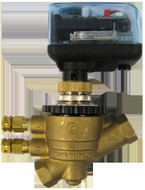 "Hci Terminator EvoPICV Pressure Independent Balancing & Control Valve - Double Union, 1-1/4"", 119 - 1110 GPM Range"